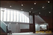 Kino Kosmos przy Alei Wojska Polskiego, hol główny, Szczecin