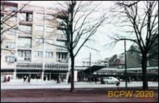 Śródmieście, fragment zabudowy Alei Niepodległości w okolicach baru Extra, Szczecin